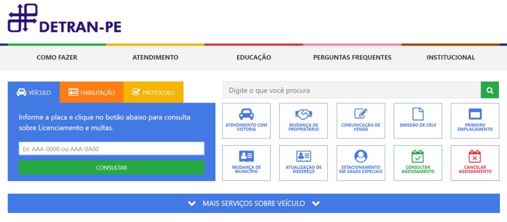 Consultar Placa Detran Pernambuco