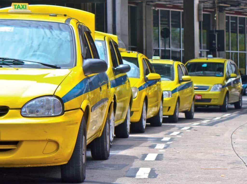 Placa de Táxi